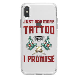 Justo one more tattoo iphone case