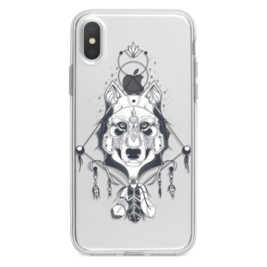 Spiritual-wolf-tattoo-iphone-case